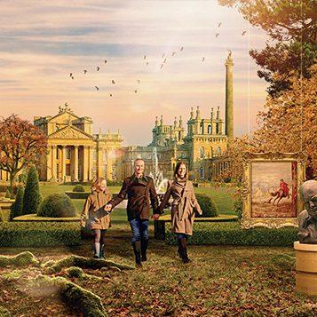 visit Blenhiem Palace in Oxford