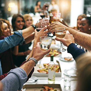Have your Christmas party with friends or colleagues at voco