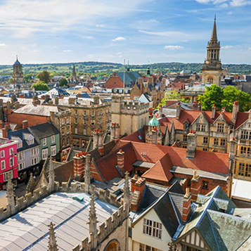 Visit Oxford for a city tour and learn about the history of Oxford